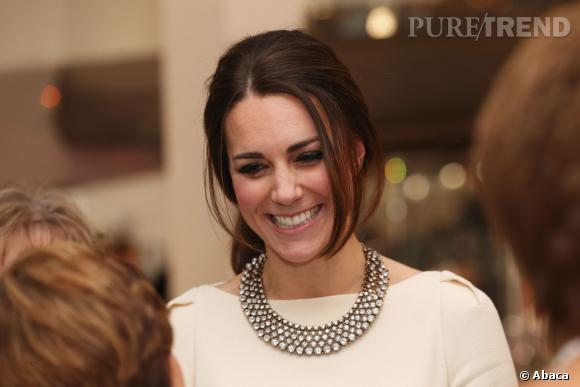 """Kate Middleton à la première du film """"Mandela : un long chemin vers la liberté"""" à Londres."""