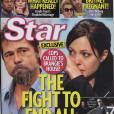 Brad Pitt et Angelina Jolie font la couv de Star Magazine pour cause d'adultère.
