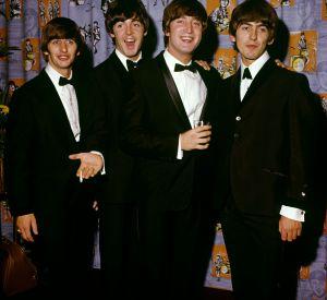John Lennon et les autres membres des Beatles.