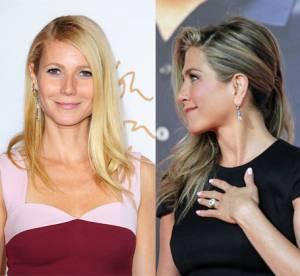 Jennifer Aniston et Gwyneth Paltrow super copines, merci Brad Pitt !