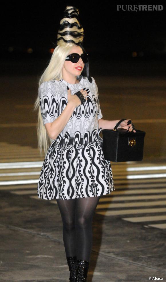 Lady Gaga, une artiste perchée.