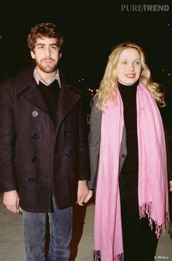 """Julie Delpy et Adam Goldberg, en 2000. Ils seront à l'affiche de """"2 days in Paris""""."""