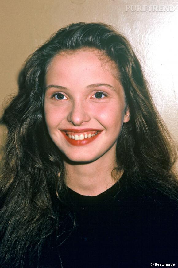 La toute jeune Julie Delpy en 1987.