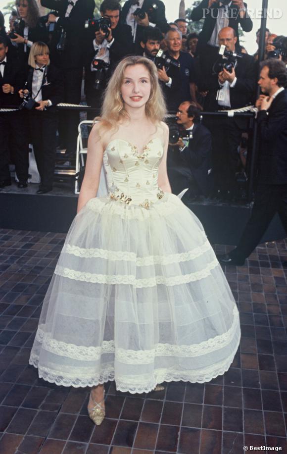 Julie Delpy au Festival de Cannes en 1992.