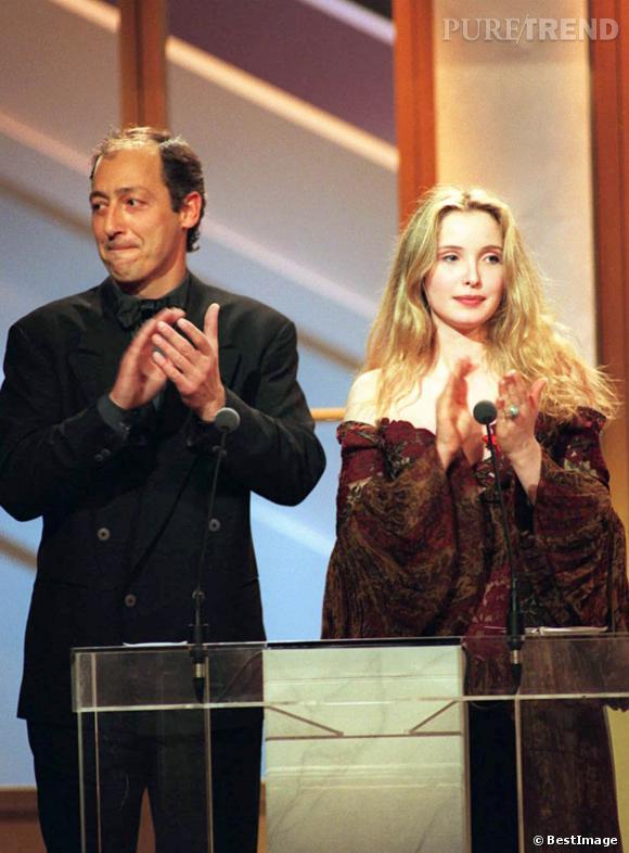 Julie Delpy aux Césars, en 1994.