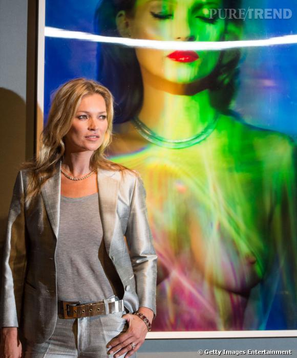 Kate Moss est la nouvelle égérie Eleven Paris.