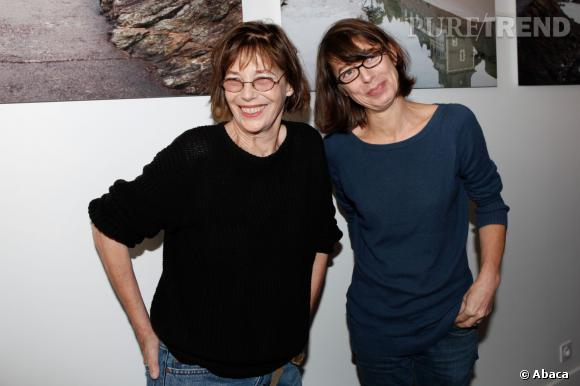 Kate Barry et sa mère, Jane Birkin.