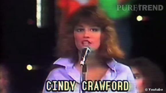 Cindy Crawford a été découverte grâce au concours Elite Model Look.