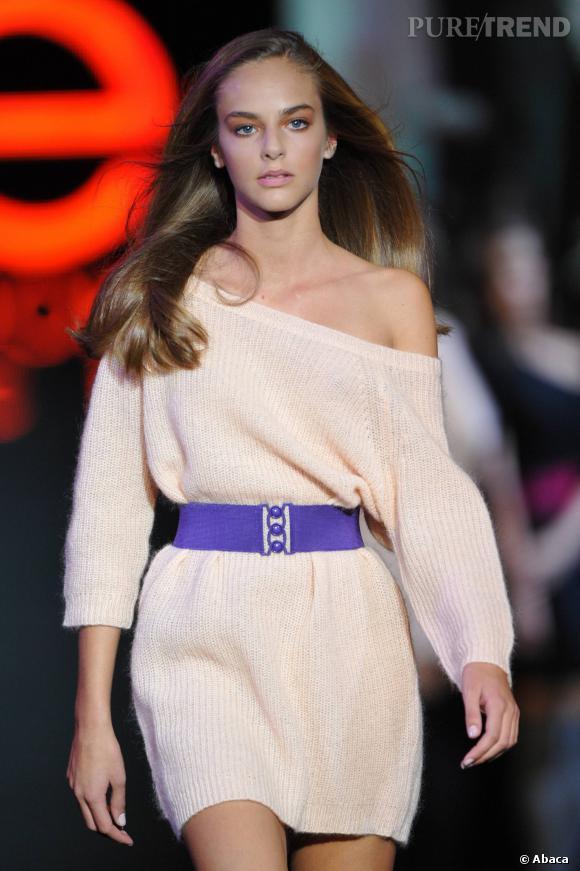 Alma Durand, gagnante de la finale Elite Model Look France 2010.
