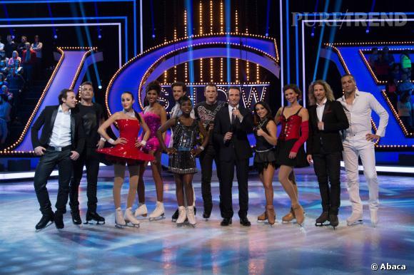 La bande d'Ice Show, dont la saison 1 s'achève ce soir sur M6.