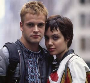 """Jonny Lee Miller et Angelina Jolie s'étaient rencontrés sur le tournage de """"Hackers""""."""