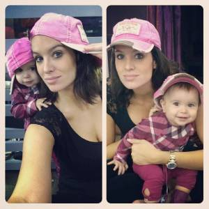 Jade Foret adore partager son quotidien et des photos de sa fille.