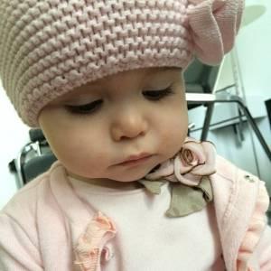 Jade Foret est déjà la maman d'une petite Liva, un an.