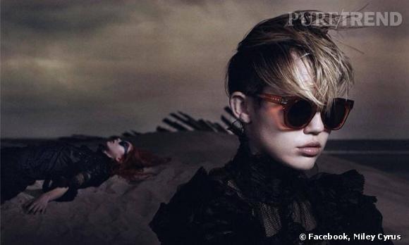 Miley Cyrus pose pour la campagne du Printemps-Été 2014 de Marc Jacobs... shootée par David Sims.