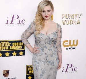 Abigail Breslin aux Critic's Choice Movie Awards 2014.