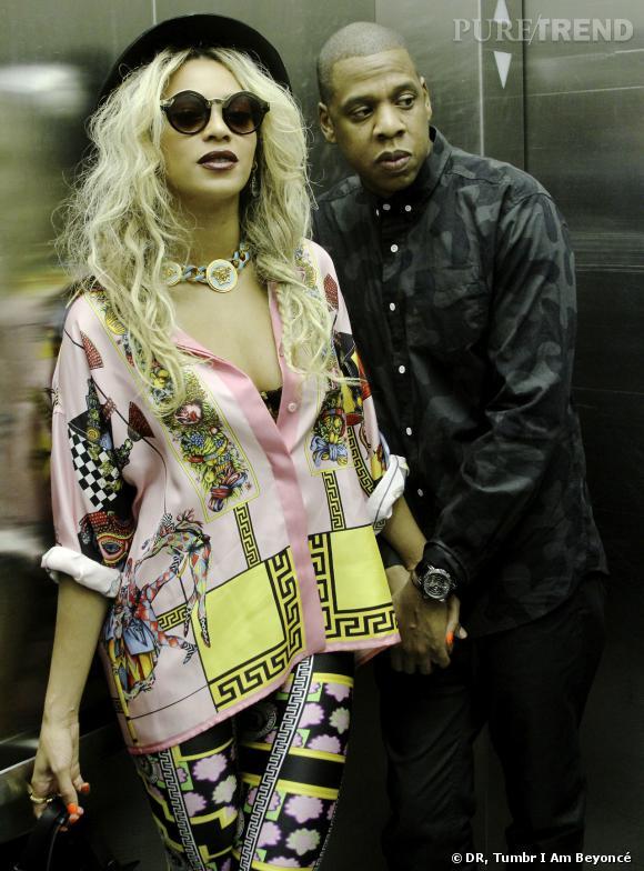 Beyoncé et Jay-Z, ensemble sur scène aux Grammy Awards 2014.