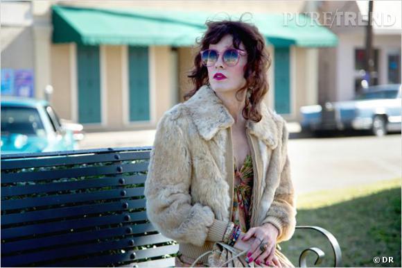 "Les travestis au cinéma : Jared Leto avec ""Dallas Buyers Club""."