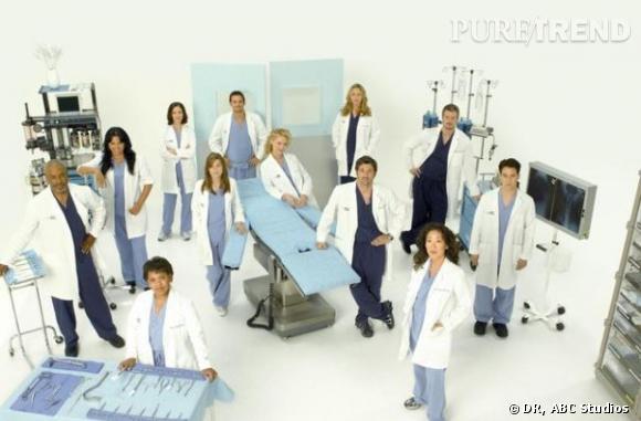 Grey's Anatomy se classe comme la série étrangère préférée des Français d'après une étude commandée par France Télévisions.