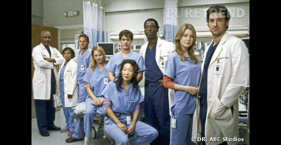 Grey's Anatomy a été choisi parmi plus de 1000 programmes diffusés.