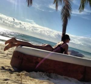 Irina Shayk : les fesses à l'air sous le soleil du Mexique