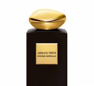 """Giorgio Armani et sa """"Myrrhe Impériale""""."""