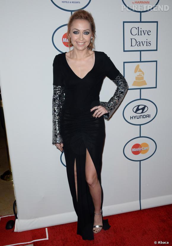 Pour Brandi Cyrus c'est un peu mieux mais pas tout à fait ça au pre-Grammy Awards 2014.