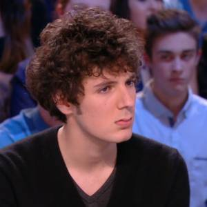 "Vincent Lacoste, invité du ""Grand Journal"" hier soir."