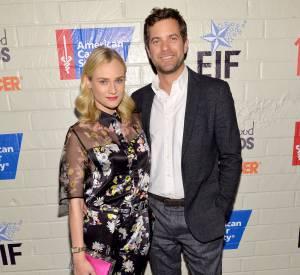 Diane Kruger et Joshua Jackson venus en duo soutenir la lutte contre le cancer.