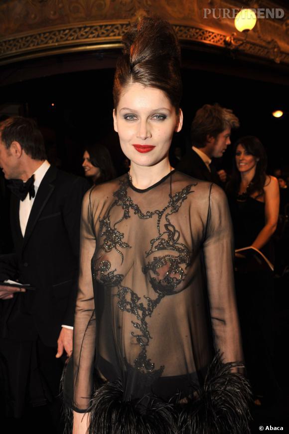 Léa Seydoux : Son beauty look nude pour la conférence de