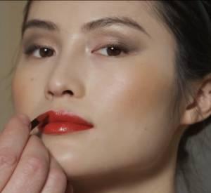 Make-up : bouche foncée mode d'emploi by Shiseido