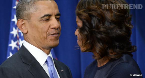 Barack Obama et Michelle Obama seraient au bord du divorce selon le National Enquirer.