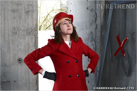 Valérie Bonneton alias Fabienne Lepic dans la série phare de France 2.