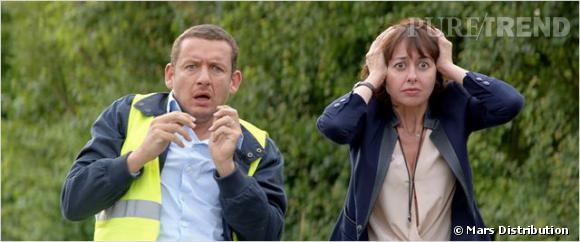 """Valérie Bonneton et Dany Boon, comparses dans la comédie """"Eyjafjallajökull""""."""