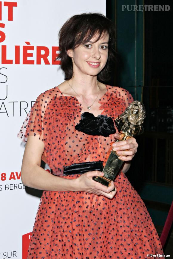 """Valérie Bonneton a reçu un Molière en 2008 pour son second rôle dans """"Le Dieu du carnage"""" de Yasmina Reza."""