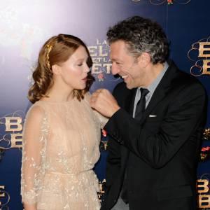 Léa Seydoux semble avoir charmé son partenaire Vincent Cassel.
