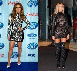 Jennifer Lopez vs Beyoncé : la mini robe col roulé Tom Ford