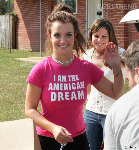 Britney Spears version brune, ce n'est pas toujours réussi, malheureusement.