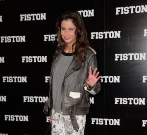 "Malika Ménard : jeune rockeuse en fleurs pour la première de ""Fiston"""