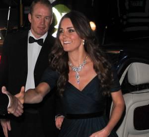 Kate Middleton : une tenue recyclée et un bijou piqué à la Reine !