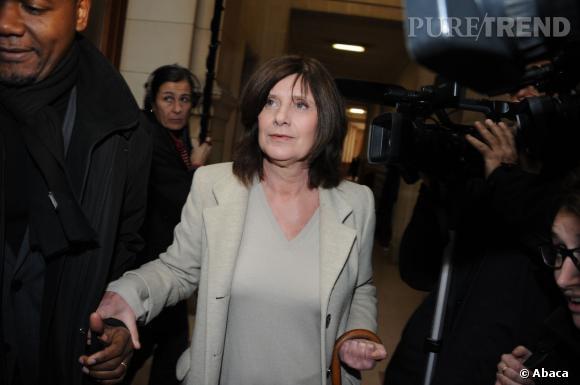Catherine Breillat lors du procès de Christophe Rocancourt.