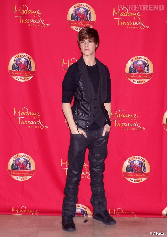Nouveau coup dur pour Justin Bieber : sa statue de cire du musée de Madame Tussauds à New York a été retirée.