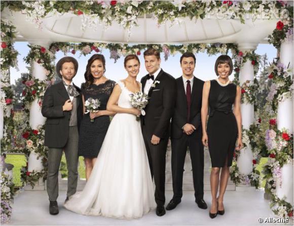"""Brennan et Booth se marient enfin, dans l'épisode 6 de la saison 9 de """"Bones"""", """"La Dame en Blanc""""."""