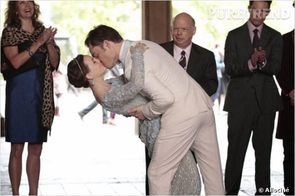 """Blair et Chuck se marient enfin dans la dernière saison de """"Gossip Girl""""."""