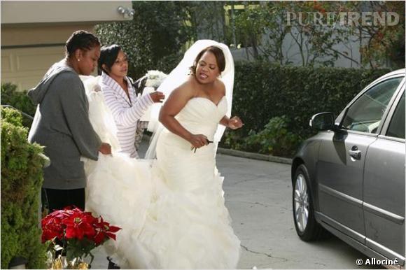 """La série """"Grey's Anatomy"""" a connu de nombreux mariages, dont celui de Bailey et Ben."""