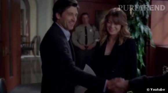 """Le mariage de Meredith et Derek dans """"Grey's Anatomy"""", tant attendu, fut finalement ultra rapide !"""
