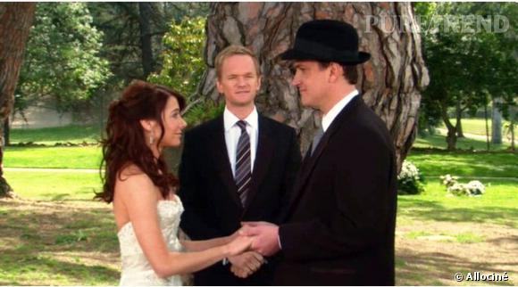 """Le mariage de Lily et Marshall fut particulièrement romantique dans """"How I Met Your Mother""""."""