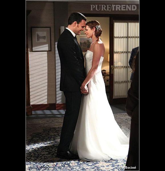 """Dans """"The Mentalist"""", on assiste au mariage de Rigsby et VanPelt."""