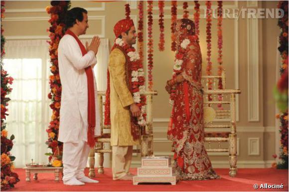 """Même si le mariage n'aboutit pas, on se souvient du mariage indien de Cece et Shrivang dans """"New Girl""""."""