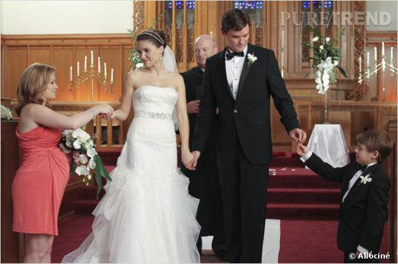 """Autre mariage touchant de """"One Tree Hill"""", celui de Brooke et Julian !"""