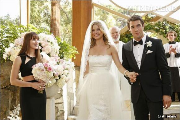 """On assiste aussi au mariage entre Emily et Daniel dans """"Revenge""""."""
